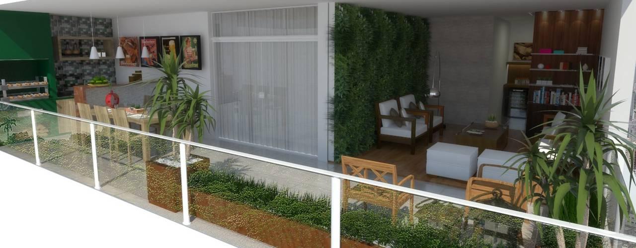 Apartamento em São Paulo:   por Arquidecor Projetos