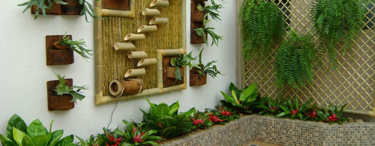 Giardino d'inverno in stile in stile Rustico di MC3 Arquitetura . Paisagismo . Interiores