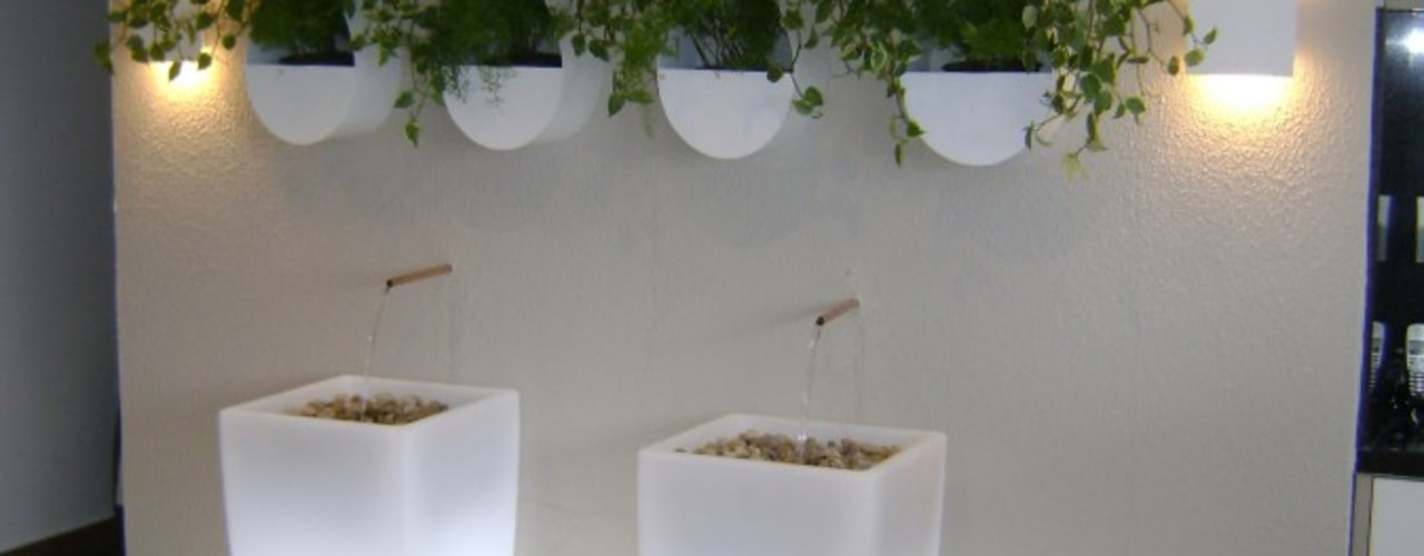 MC3 Arquitetura . Paisagismo . Interiores Modern garden