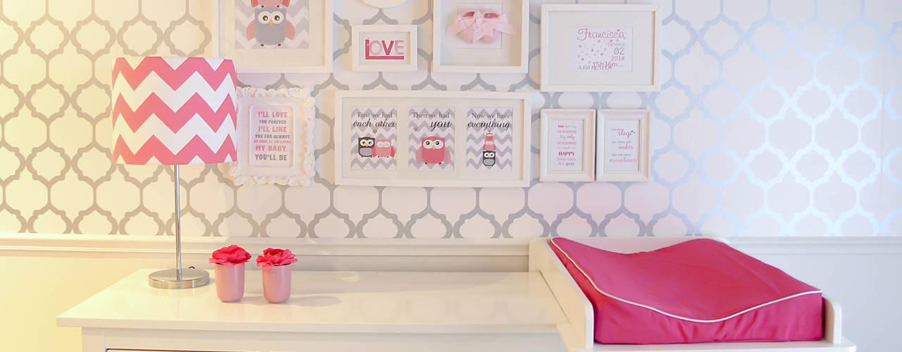 Love Nursery - Quarto de Bebé por Andreia Alexandre Interior Styling