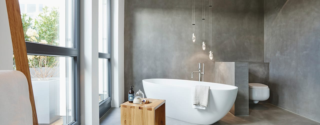 HONEYandSPICE innenarchitektur + design Modern Banyo
