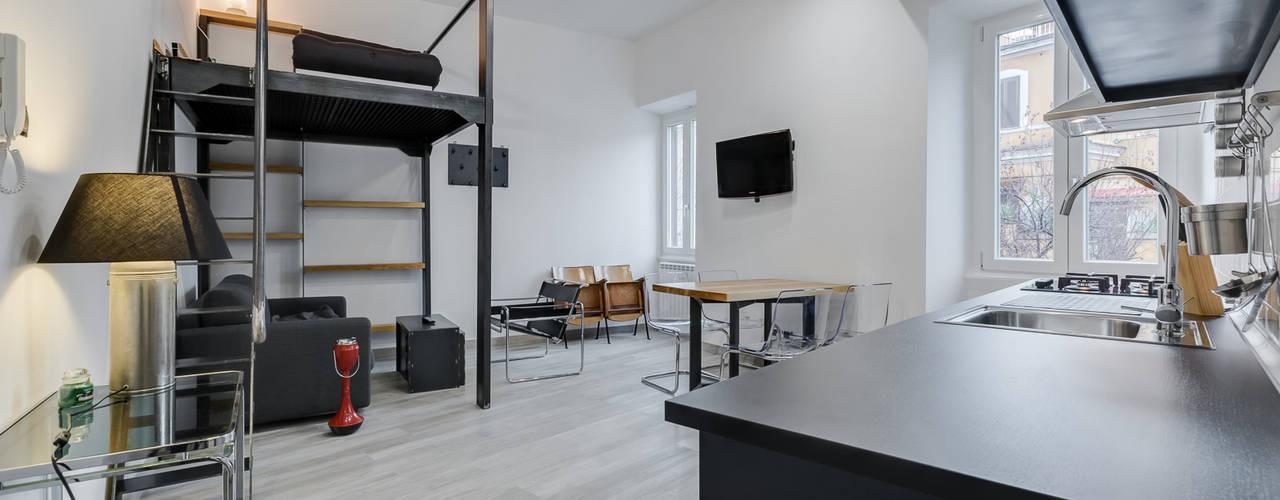 Salas de estilo moderno por Luca Tranquilli - Fotografo