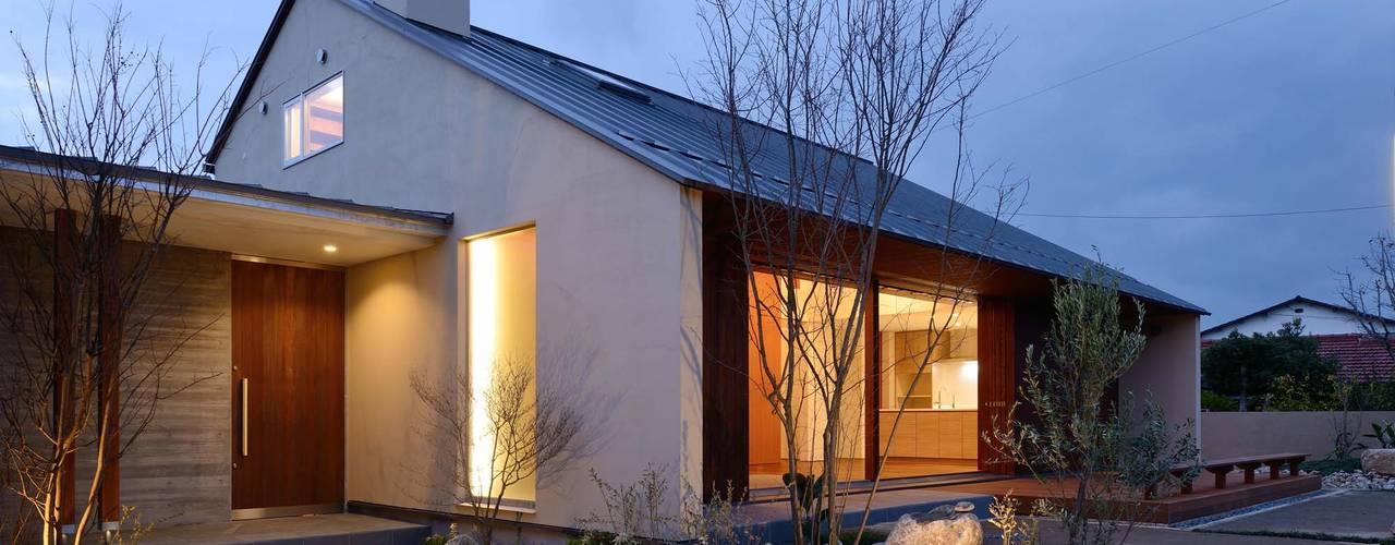Rumah Gaya Skandinavia Oleh 澤村昌彦建築設計事務所 Skandinavia