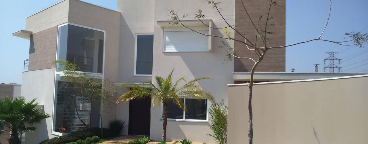 Casas estilo moderno: ideas, arquitectura e imágenes de Habitat arquitetura Moderno