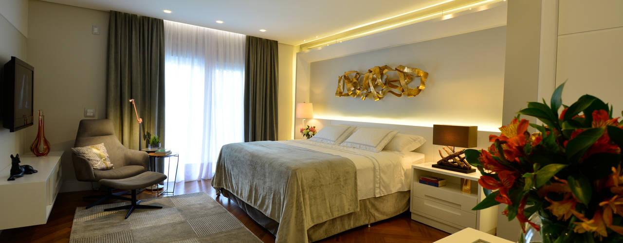 Habitaciones de estilo moderno por Tania Bertolucci  de Souza  |  Arquitetos Associados