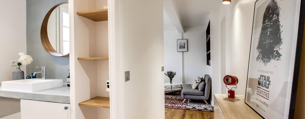 Moderne badkamers van Transition Interior Design Modern