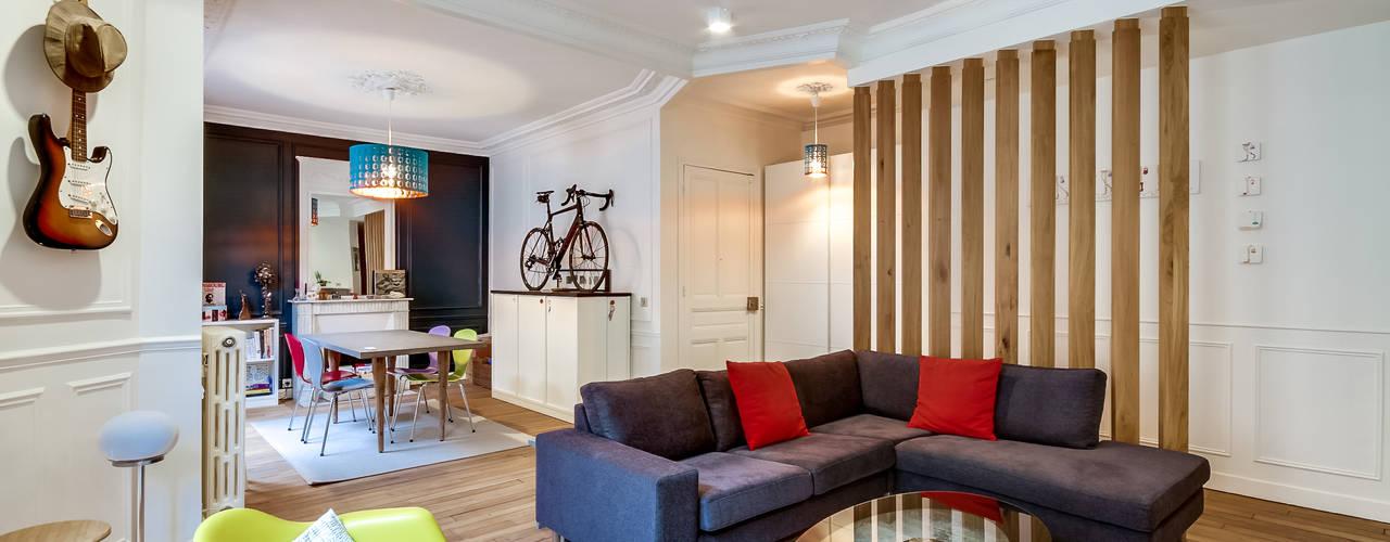 Salas de estilo moderno de ATELIER FB Moderno