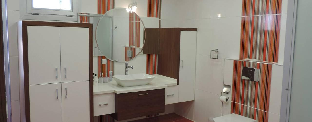 Modern Bathroom by idiliçmimarlık Modern