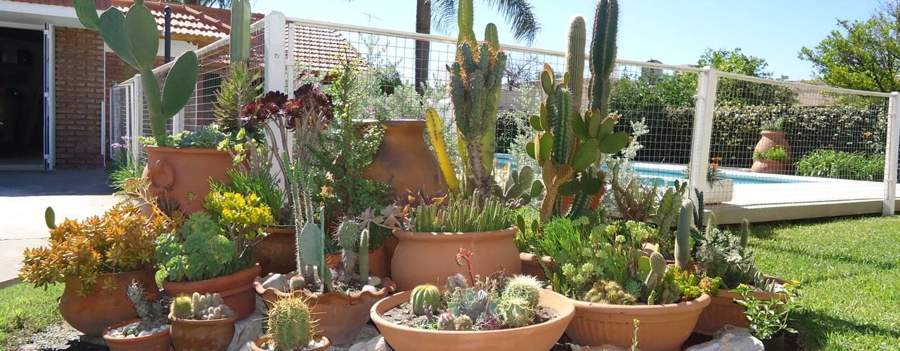 Jardins ecléticos por milena oitana Eclético