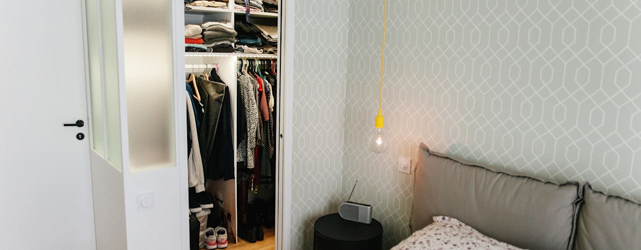 Modern style dressing rooms by Lise Compain Modern