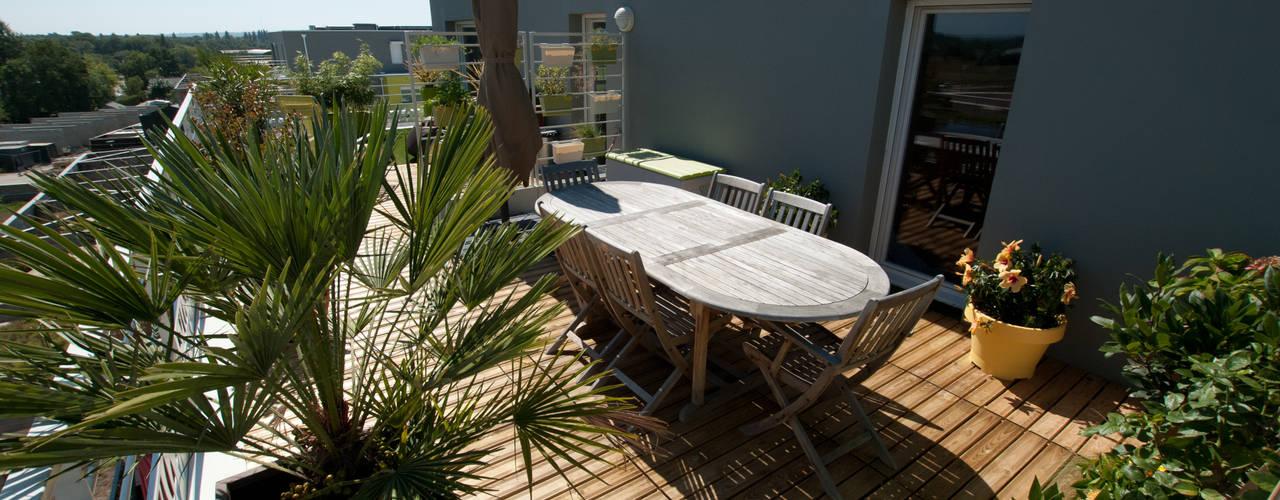 Projekty,  Taras zaprojektowane przez Vertigo jardins