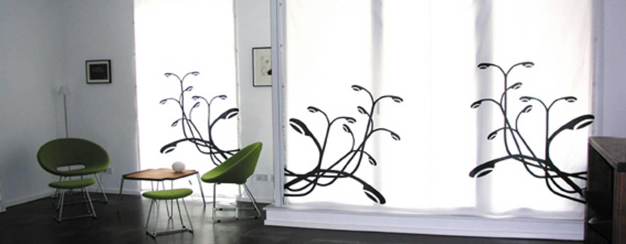 Livings de estilo  por s.wert design