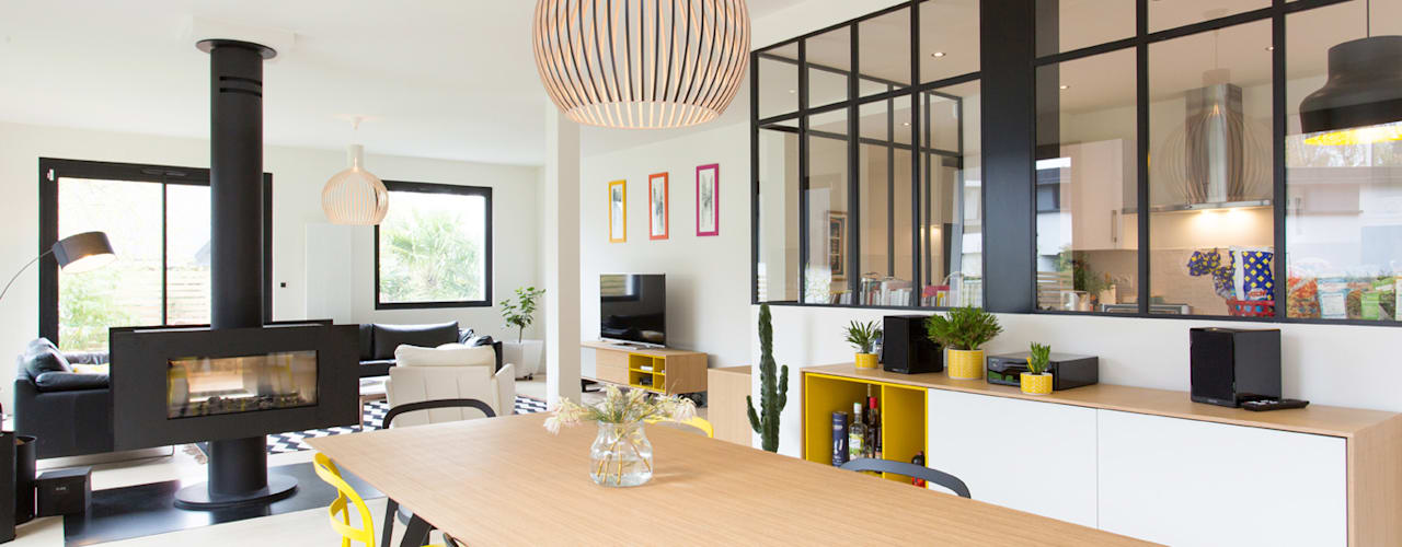 Industrial style dining room by 19 DEGRES Industrial