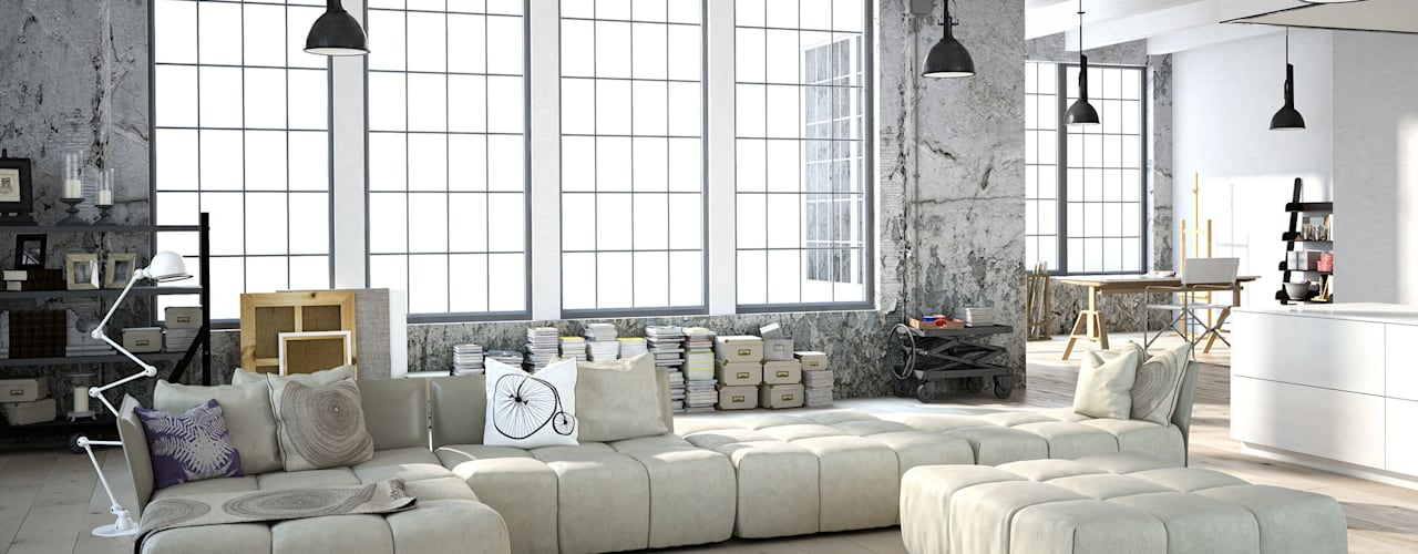 غرفة المعيشة تنفيذ Fang Interior Design