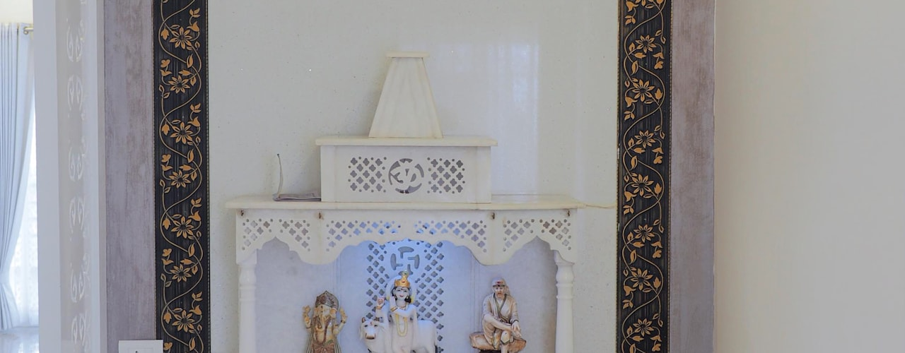 POOJA ROOM /PRAYER AREA:   by KREATIVE HOUSE