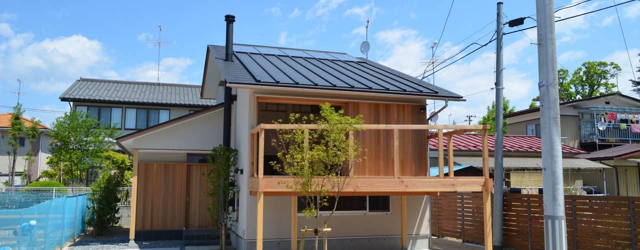 Casas de estilo  por 清建築設計室/SEI ARCHITECT