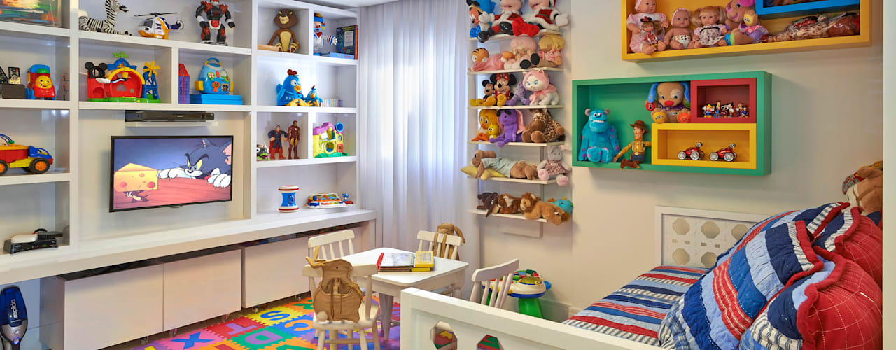 Modern nursery/kids room by Juliana Goulart Arquitetura e Design de Interiores Modern
