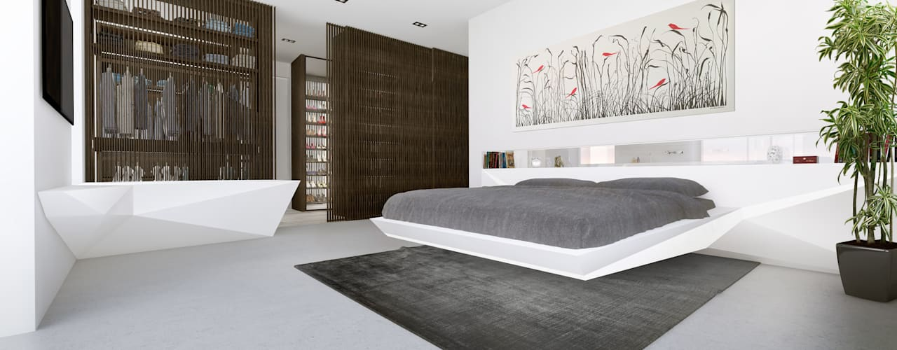 PENTHOUSE 23 Who Cares?! Design Modern Bedroom