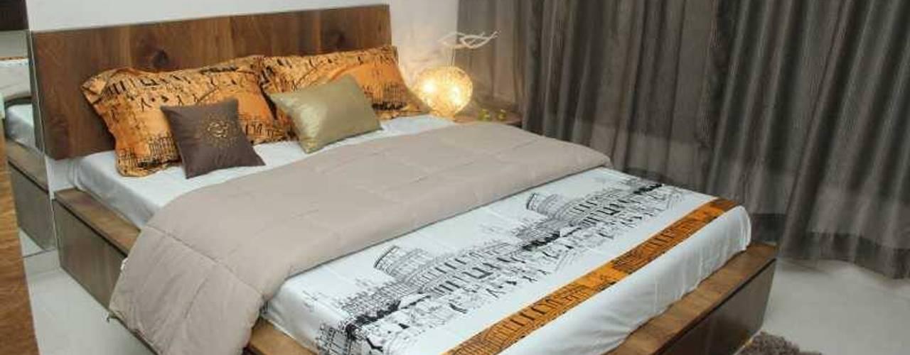SAMVAAD:  Bedroom by PADARRPAN ARCHITECTS