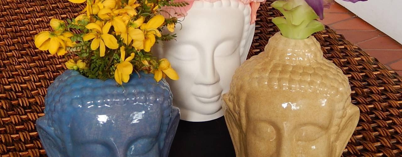 Floreros Buddha:  de estilo  por ManoLatina