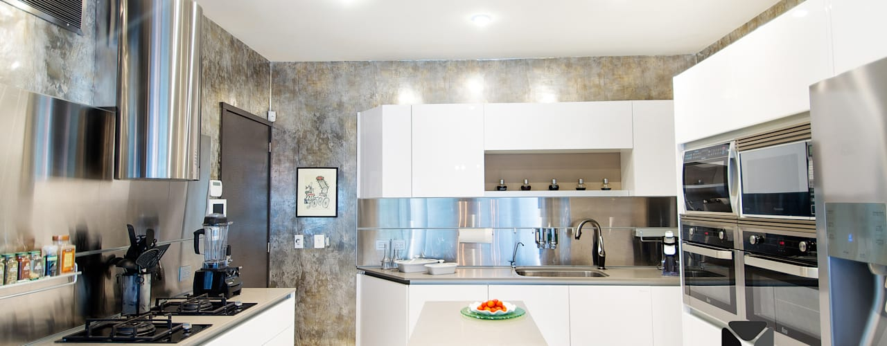 Cozinhas  por PORTO Arquitectura + Diseño de Interiores