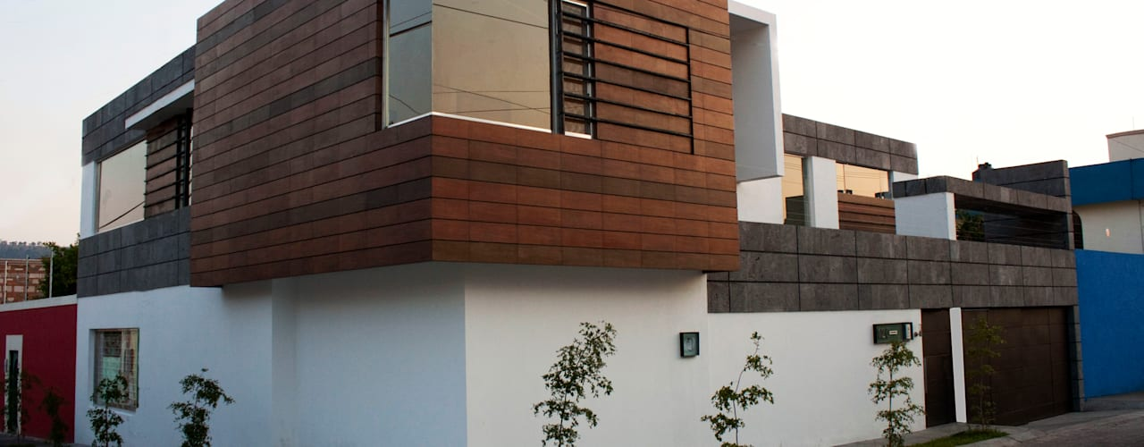 Casa J+S ARQUIMIA ARQUITECTOS: Casas de estilo  por Arquimia Arquitectos