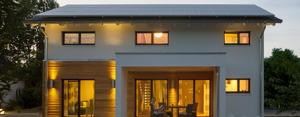 Musterhaus Mannheim 159 Modern houses by Licht-Design Skapetze GmbH & Co. KG Modern