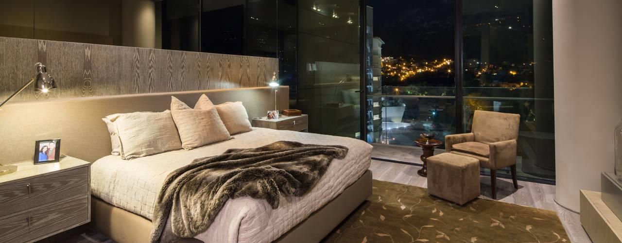 Idea Cubica Dormitorios de estilo moderno Beige