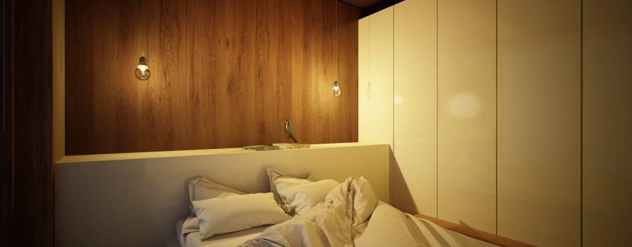 Dormitorios de estilo  por Maqet, Escandinavo