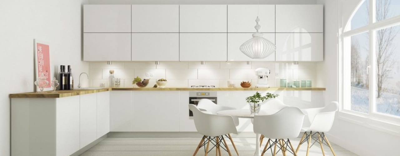 Cozinha: Cozinhas escandinavas por Maqet