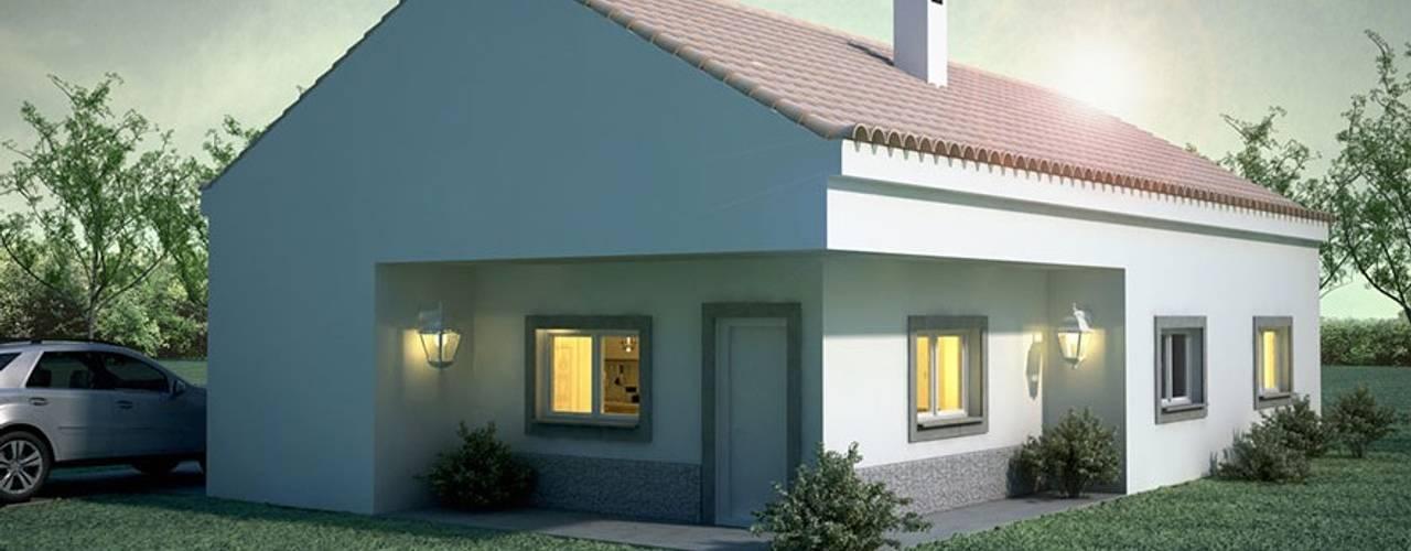 Projekty,  Domy zaprojektowane przez Maqet