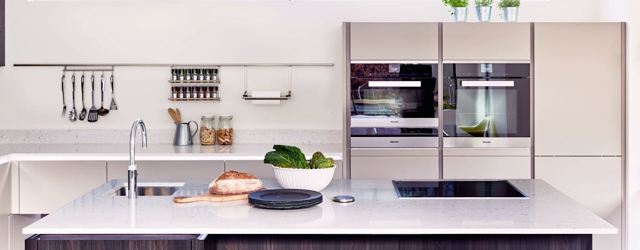 ALNO kitchen - as seen on Building The Dream by The ALNO Store Bristol Modern