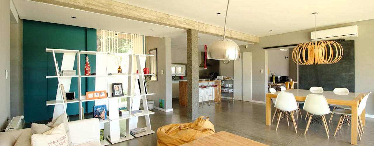 Salones minimalistas de Queixalós.Trull Arquitectos Minimalista