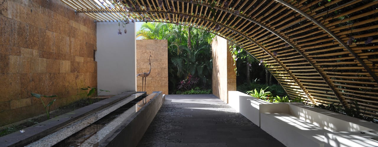 Terrace by José Vigil Arquitectos , Modern