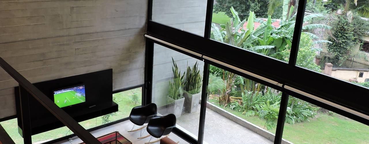 casa DL Salones minimalistas de jose m zamora ARQ Minimalista