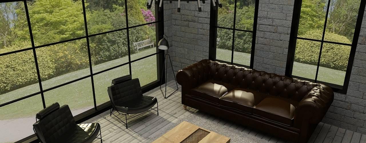 Living room by Update İç Mimarlık