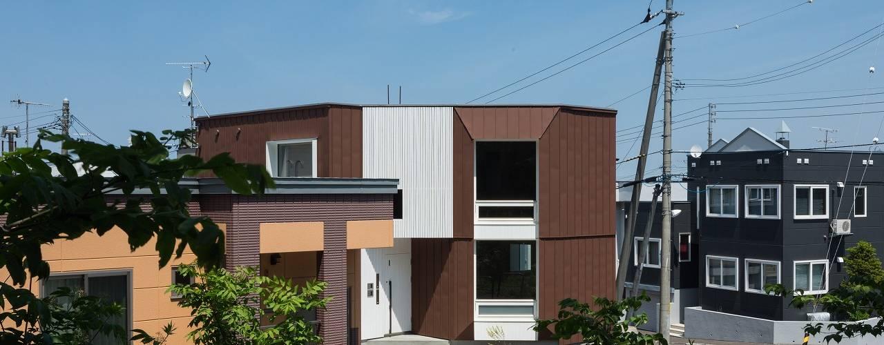 宮の沢の家 モダンな 家 の 富谷洋介建築設計 モダン