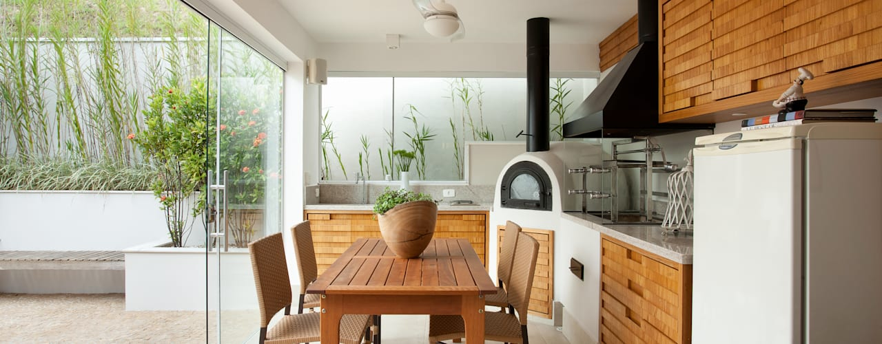 Balcon, Veranda & Terrasse modernes par Silvana Lara Nogueira Moderne