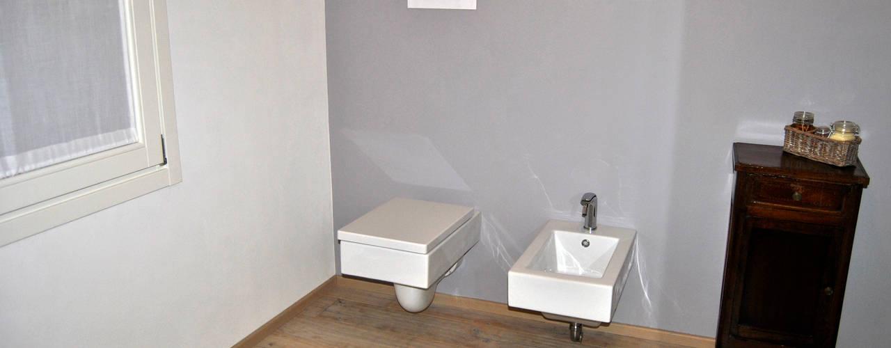 ArcKid Ванная комната в стиле модерн от ArcKid Модерн