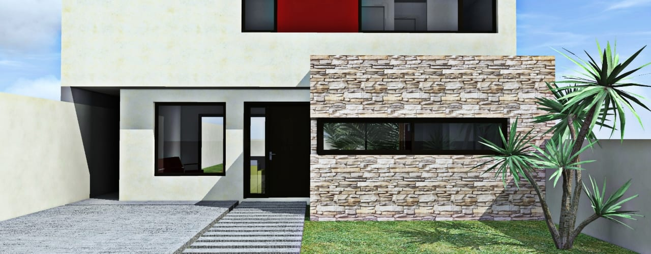 Houses by epb arquitectura, Modern