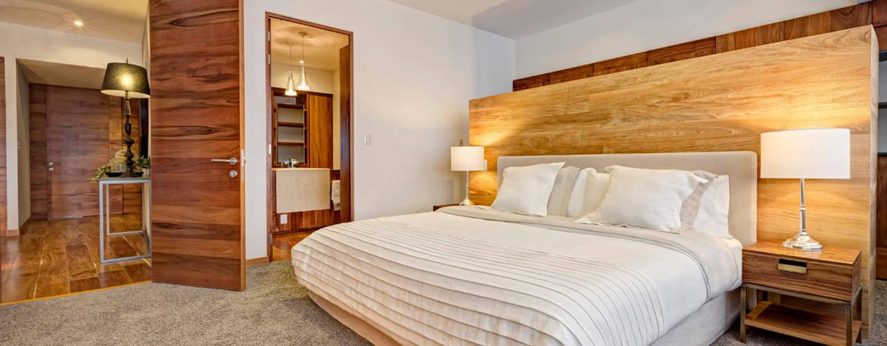 Slaapkamer door Lopez Duplan Arquitectos,