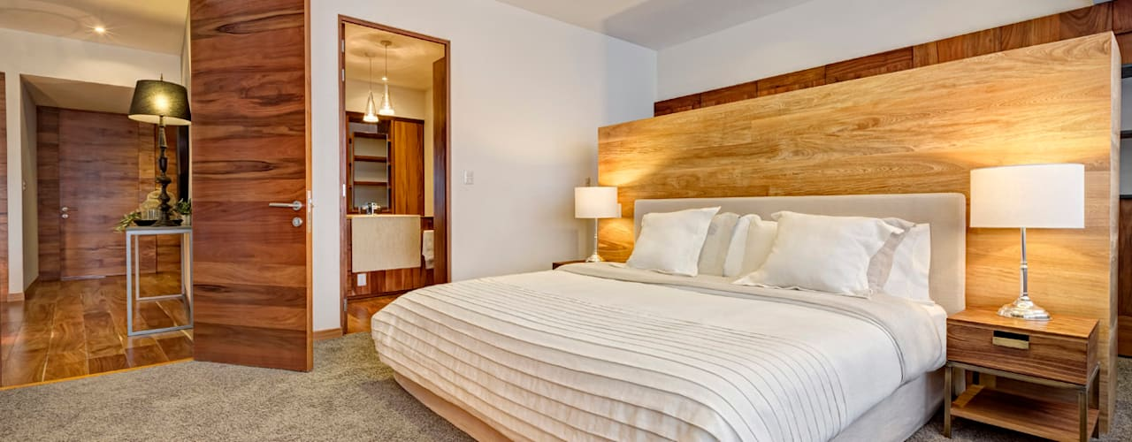 Moderne slaapkamers van Lopez Duplan Arquitectos Modern