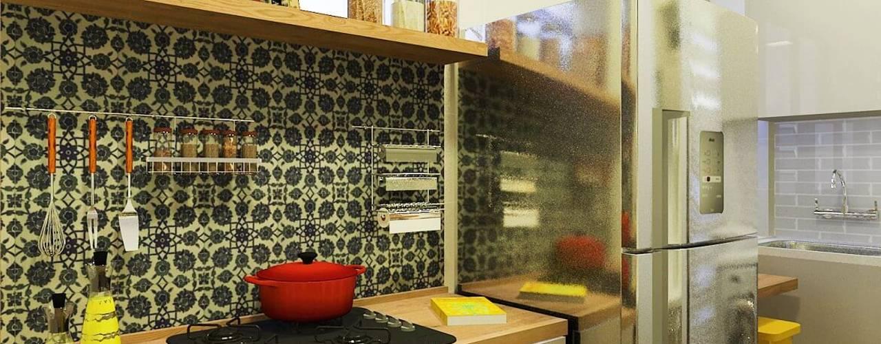 Кухня в стиле модерн от Isadora Cabral Arquitetura Модерн
