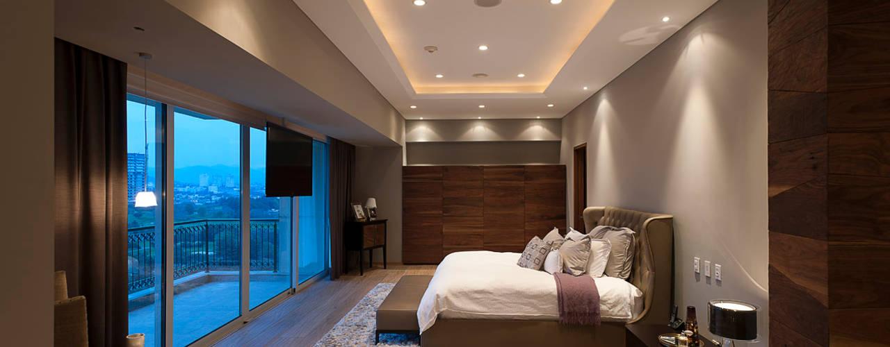 Dormitorios de estilo moderno por ARCO Arquitectura Contemporánea