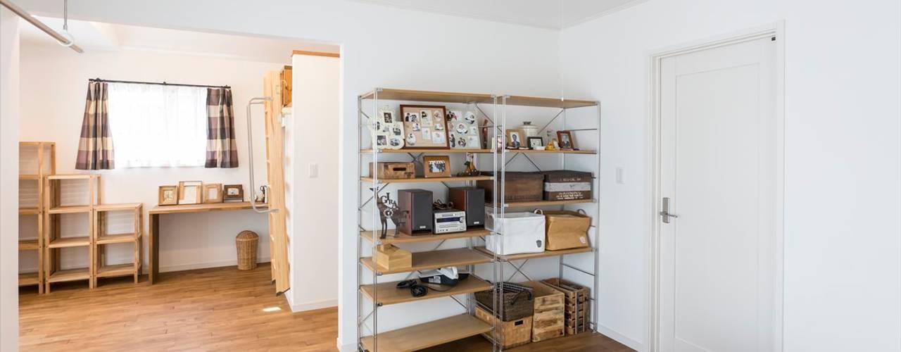 Dormitorios mediterráneos de ジャストの家 Mediterráneo