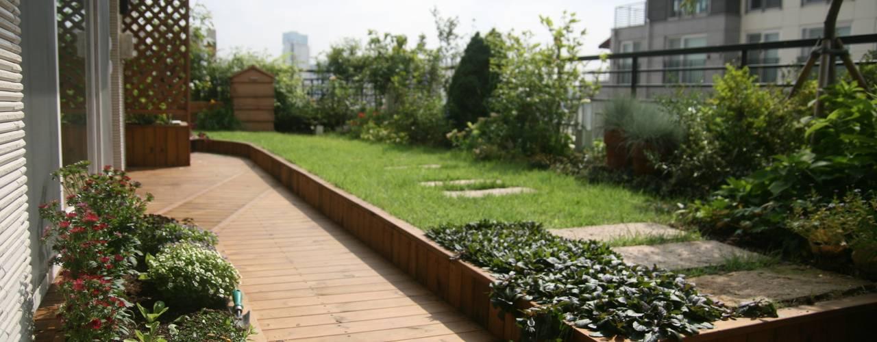 에일린의 뜰: 푸르네의  정원,모던
