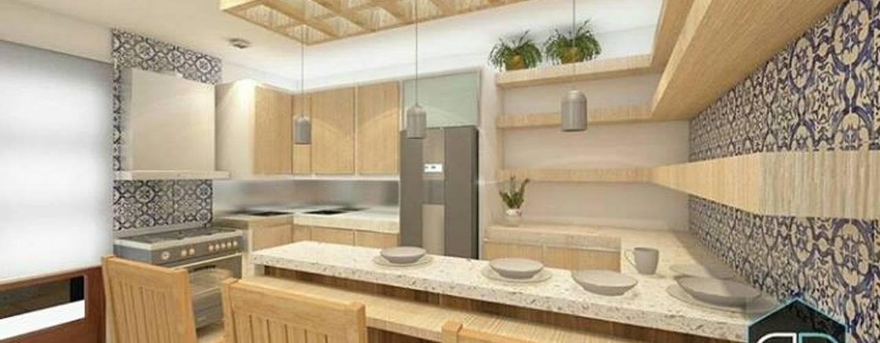 Proyectos Cocinas de estilo moderno de Perfil Arquitectura Moderno