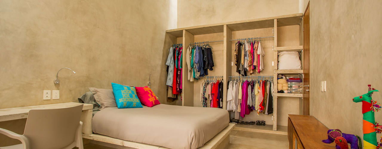 Bedroom by TACO Taller de Arquitectura Contextual, Modern