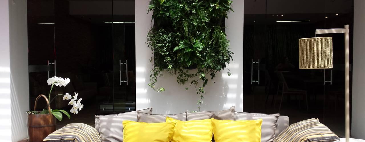 Jardines de estilo  por Bruno Carettoni Arquitetura Paisagística & Ecodesign