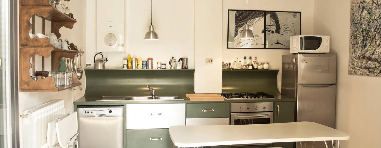 مطبخ تنفيذ Studio Sarpi, حداثي